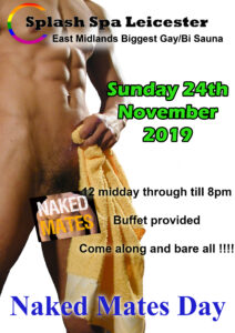 Naked Mated Splash Leicester