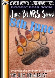 Bears party Splash Leicester