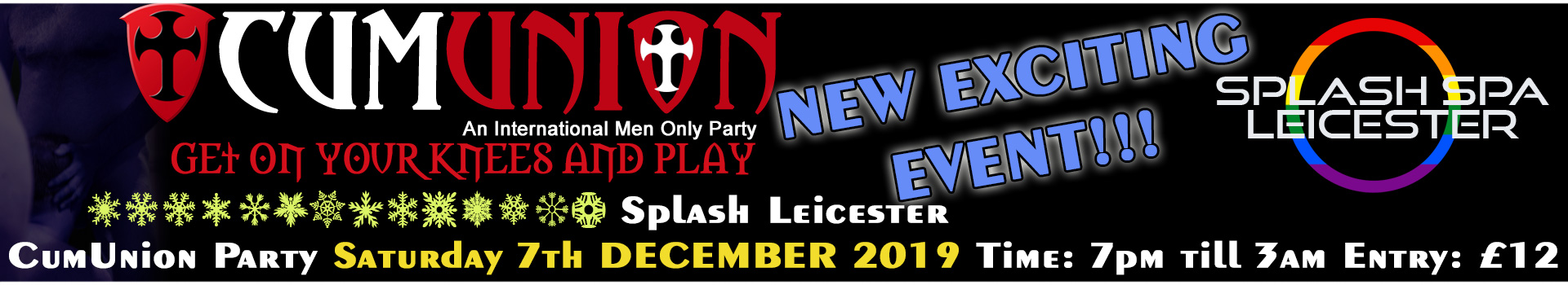 CumUnion Splash Leicester